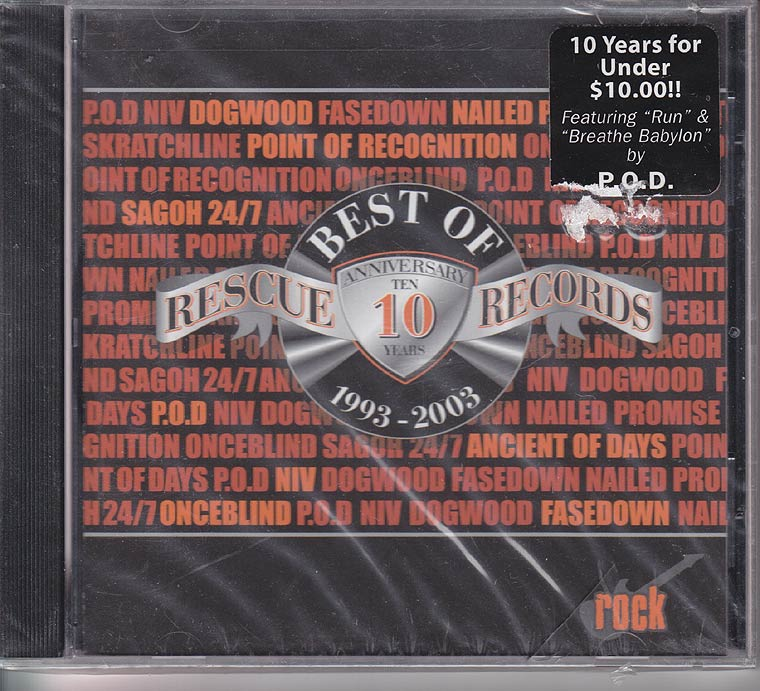 Various - Best Of Rescue Records Rock 1993-2003