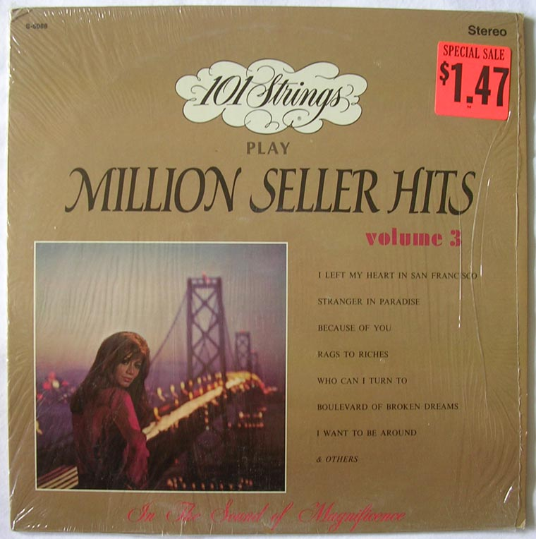 101 Strings - Million Seller Hits Volume 3