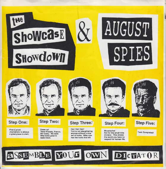 Showcase Showdown / August Spies - Assemble Your Own Dictator