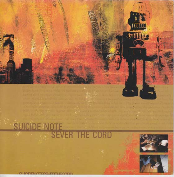 Emo Suicide Notes: Suicide Note / Sever The Cord