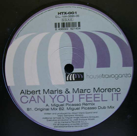 Maris & Moreno - Can You Feel It