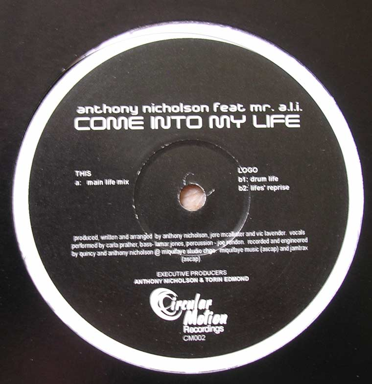 Anthony Nicholson - Come Into My Life