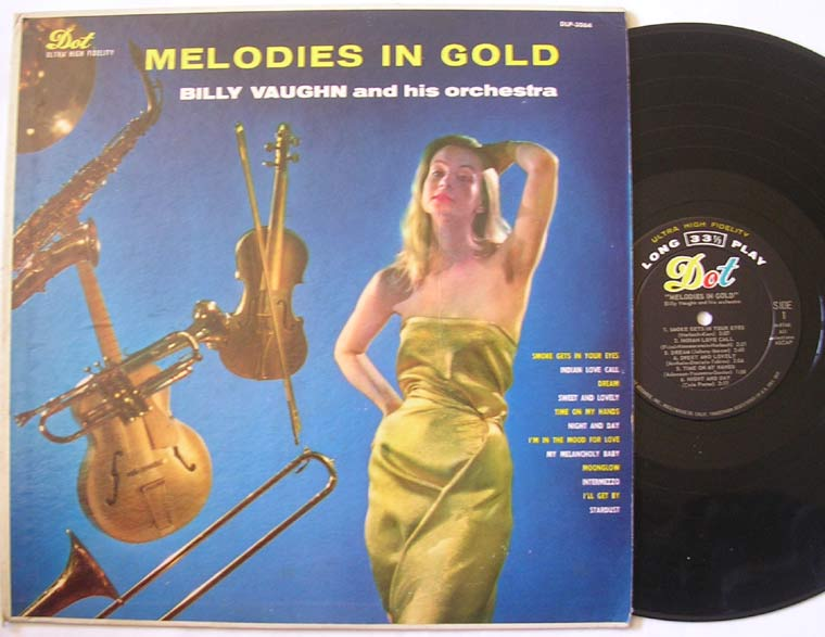Billy Vaughn And His Orchestra - Melodies In Gold