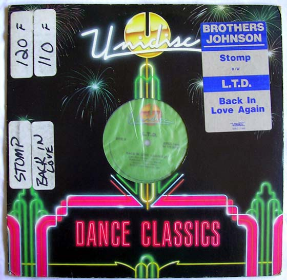 Brothers Johnson / L.T.D. - Stomp / Back In Love Again