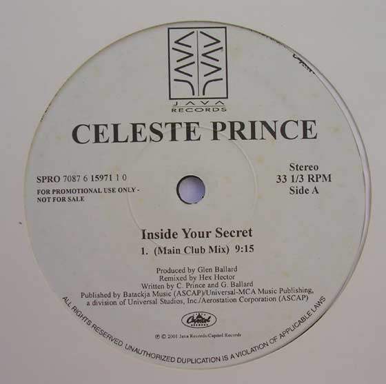 Celeste Prince - Inside Your Secret