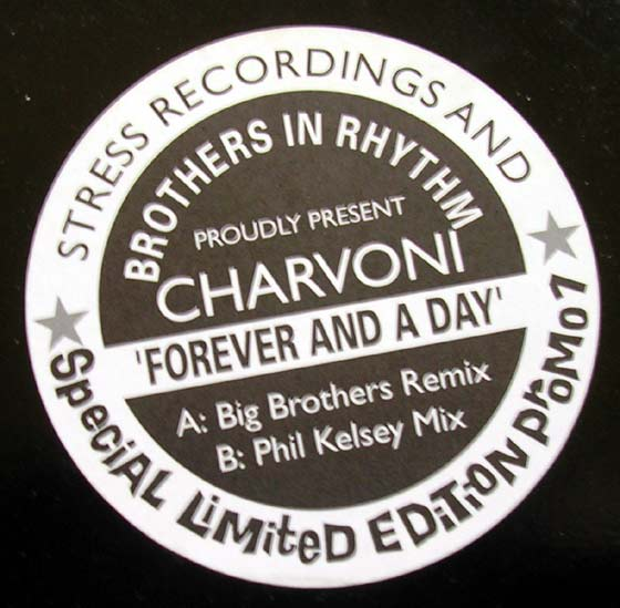 Brothers In Rhythm / Charvoni - Forever And A Day