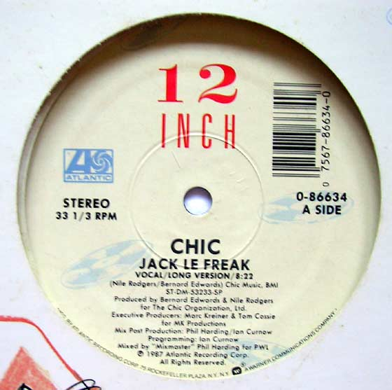 Chic - Jack Le Freak