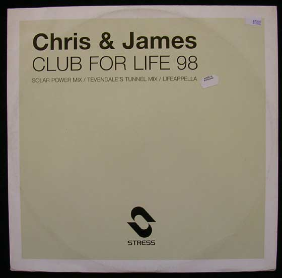 Chris & James - Club For Life 98