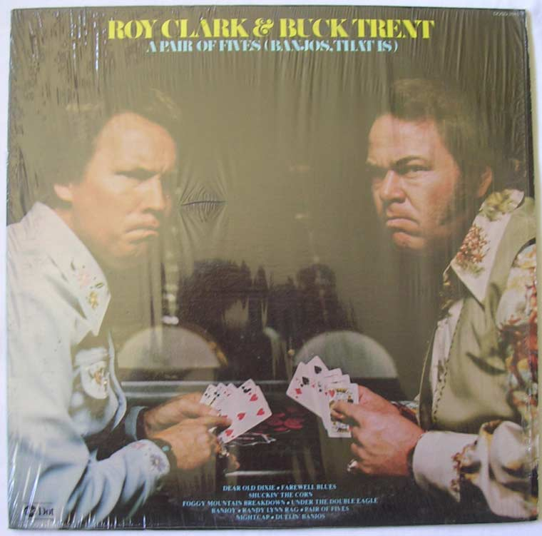 Roy Clark & Buck Trent - Pair Of Fives (Banjos,That Is)