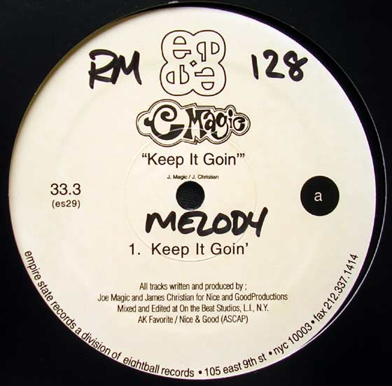 C Magic - Keep It Goin / Feel The Melody