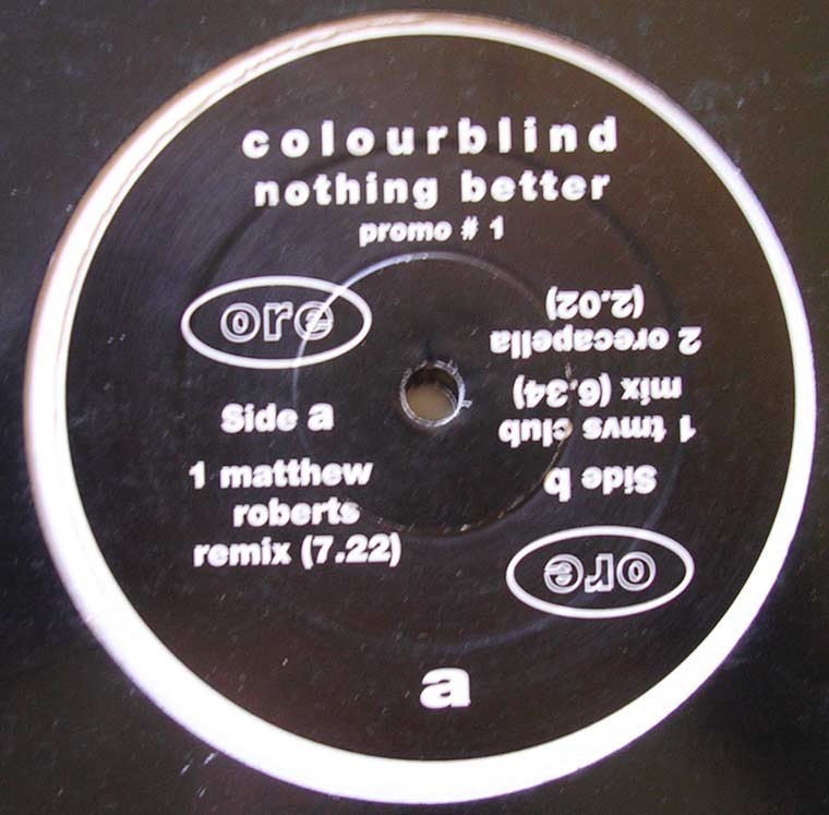 Colourblind - Nothing Better