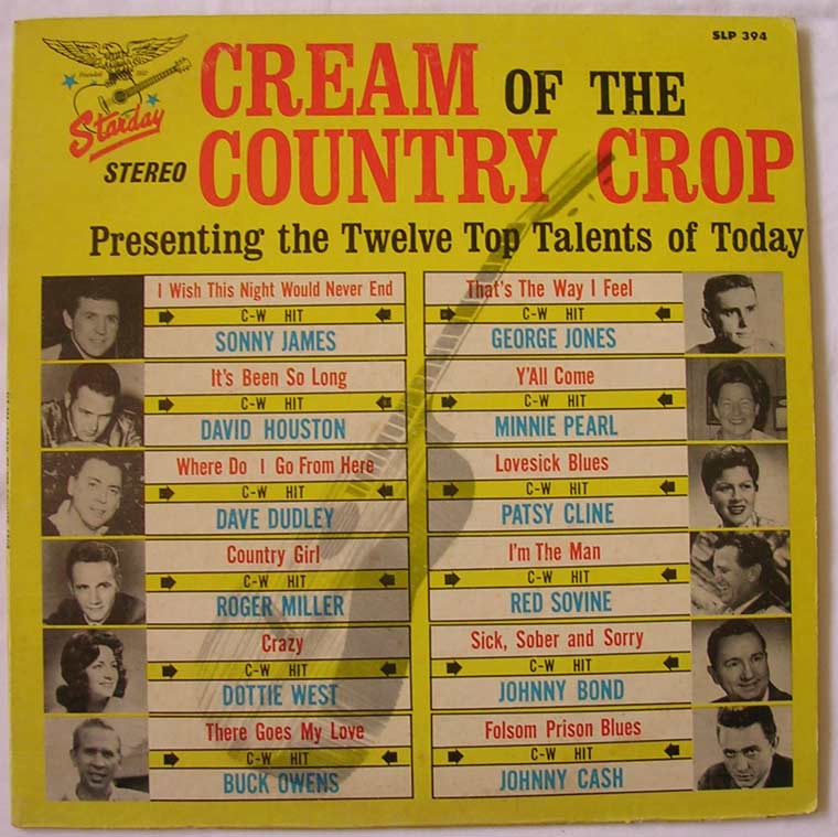 V/A - Cream of the Country Crop
