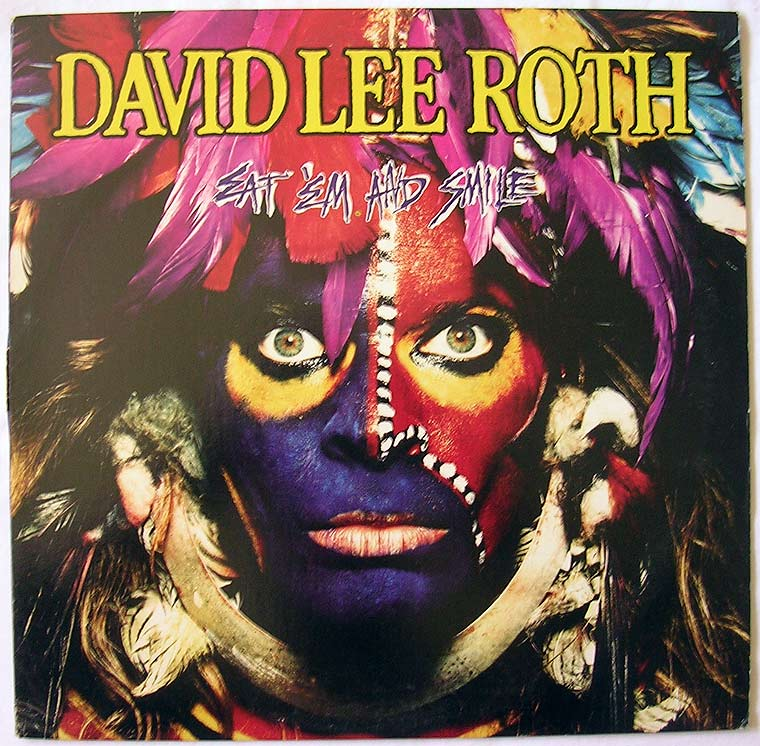 David Lee Roth Eat Em And Smile By Warner Bros Records