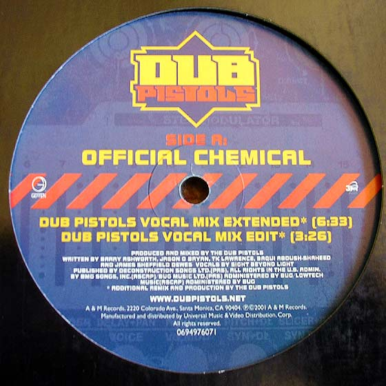 Dub Pistols - Official Chemical