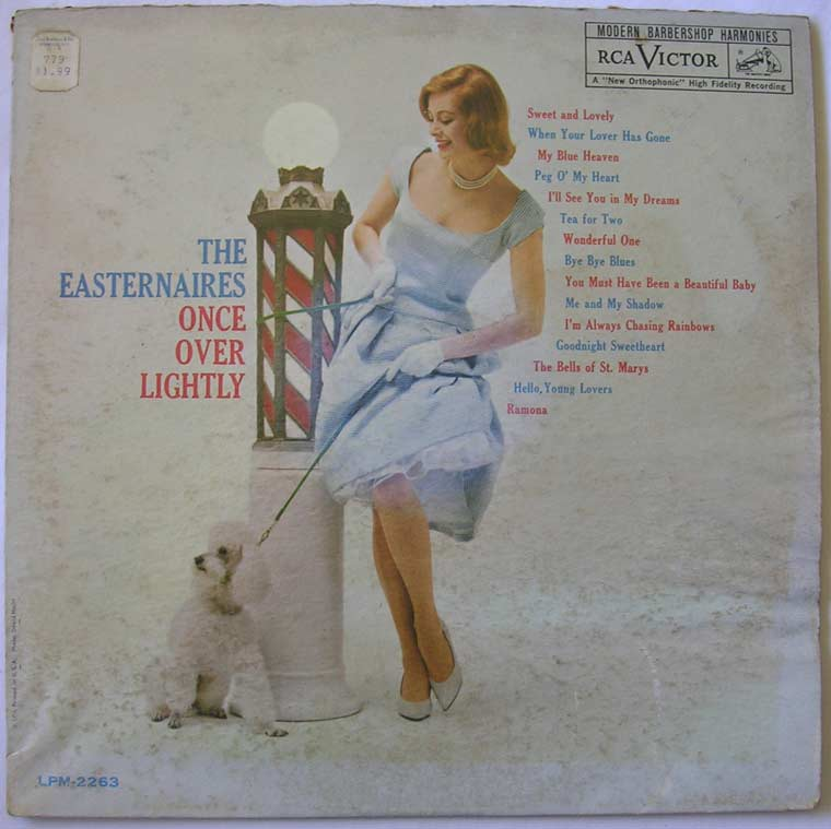 The Easternaires Once Over Lightly By Rca Vinyl45lp Com
