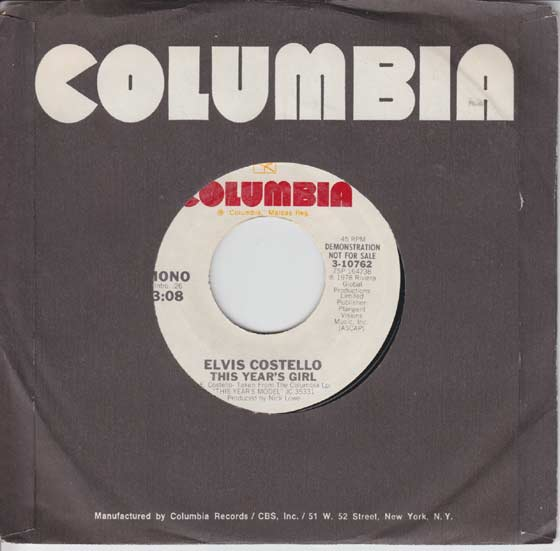 Elvis Costello - This Years Girl