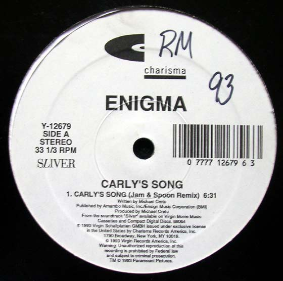 Enigma - Carly's Song