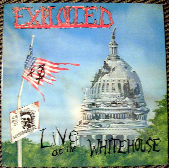 Exploited Live At The Whitehouse By Combat Core