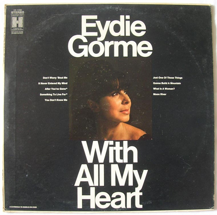 Eydie Gorme - With All My Heart