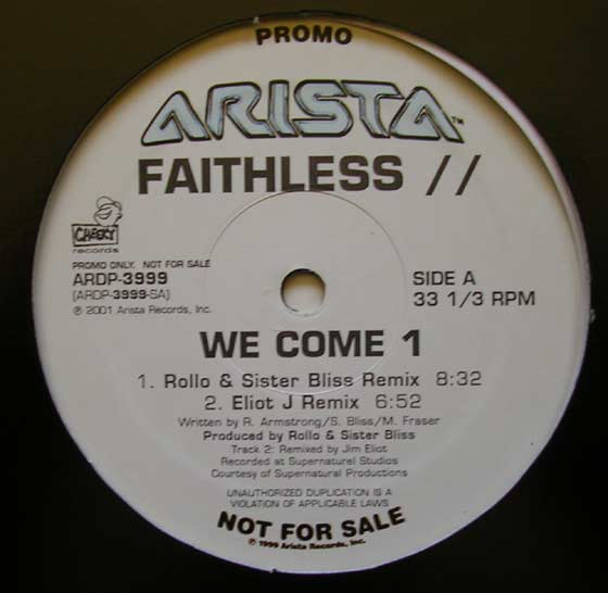 Faithless - We Come