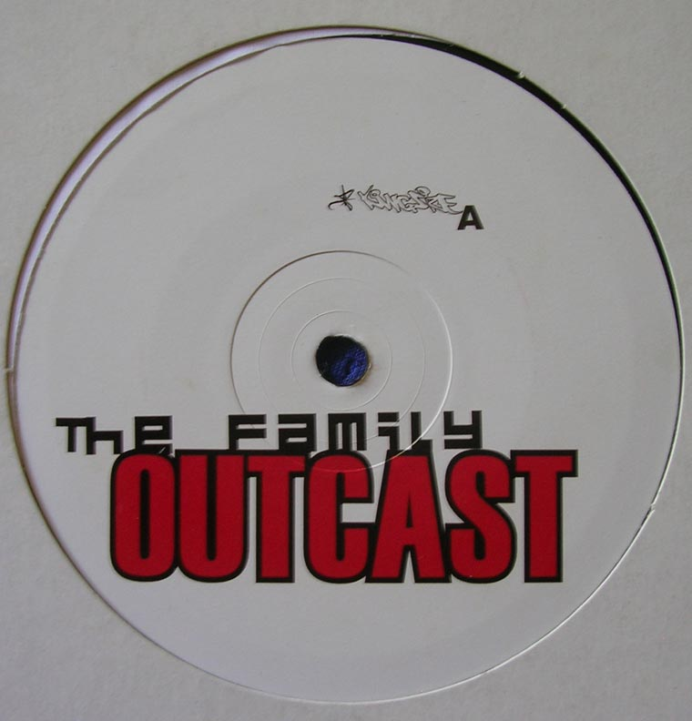 Outcast - The Family EP by Kingsize | Vinyl45LP.com