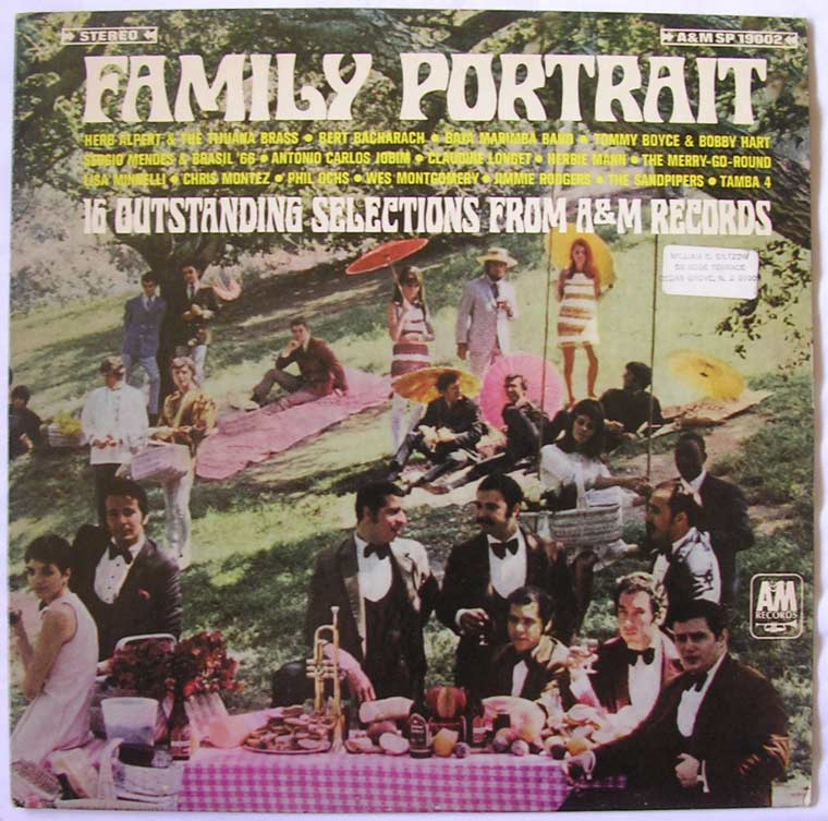 V/A - Family Portrait - 16 Outstanding Selections From A&M Records
