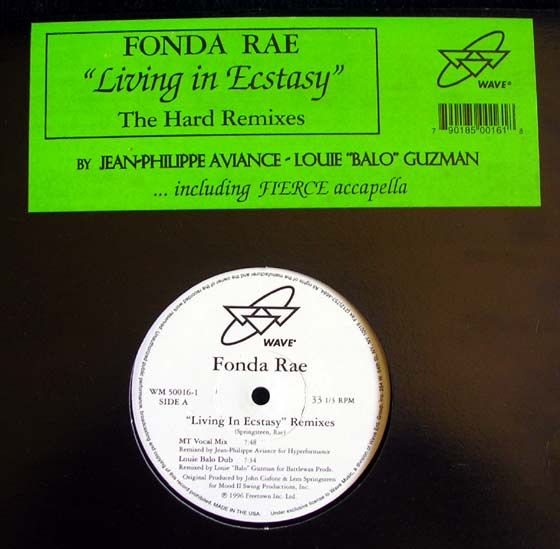 Fonda Rae - Living In Ecstasy
