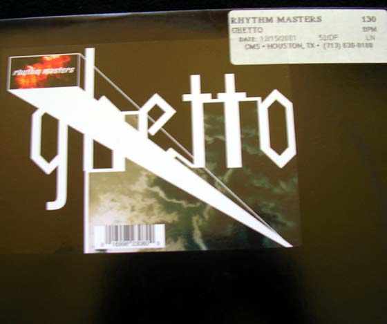 Rhythm Masters - Ghetto