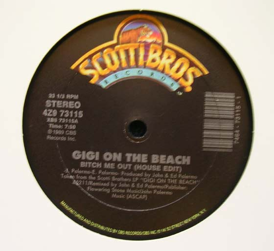 Gigi On The Beach - Bitch Me Out
