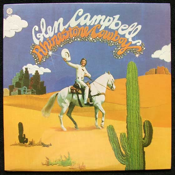 Glen Campbell Rhinestone Cowboy By Capitol Records