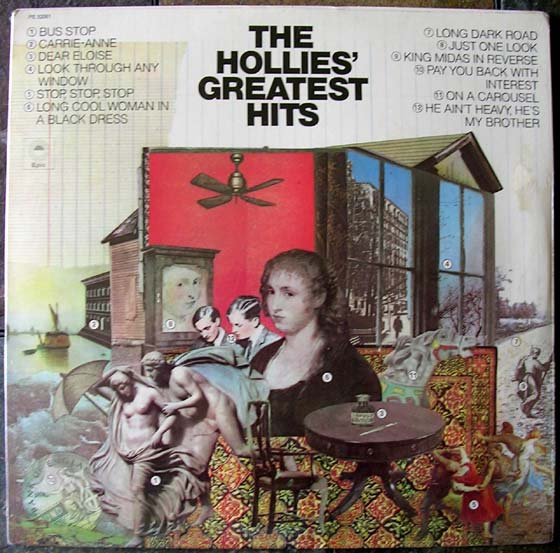 The Hollies Greatest Hits By Epic Vinyl45lp Com