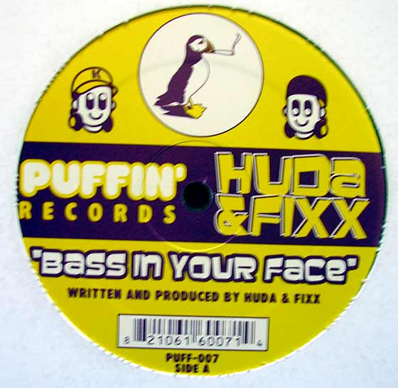 Various Bass In Your Face By Puffin Records Vinyl45lp Com