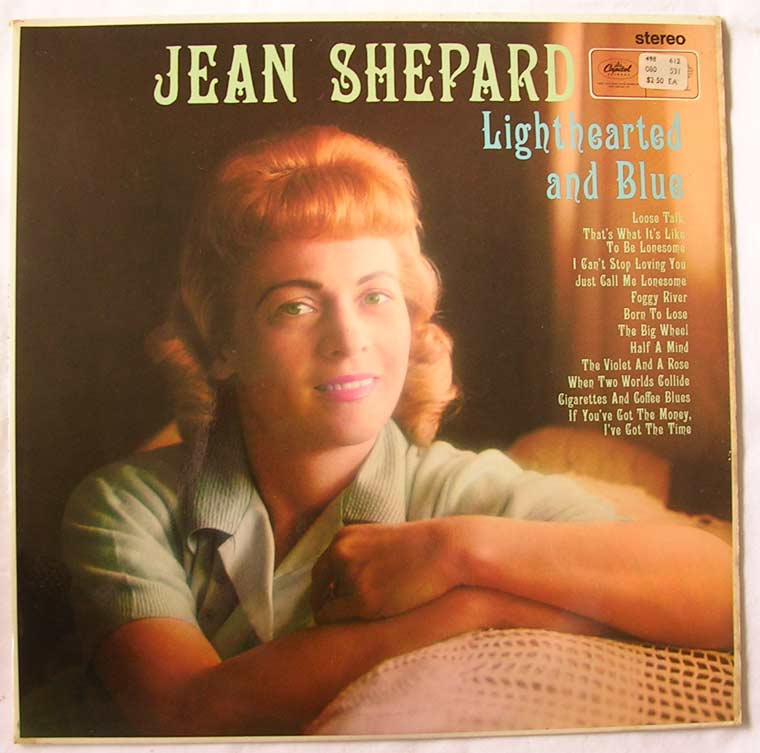Jean Shepard - Lighthearted and Blue