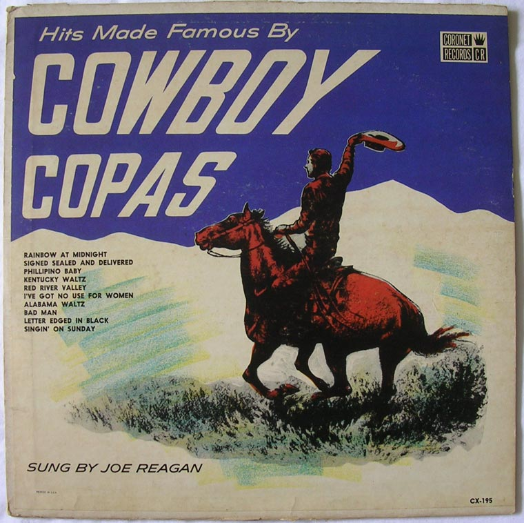 Joe Reagan - Hits Made Famous By Cowboy Copas