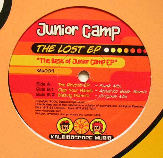Junior Camp - The Lost EP