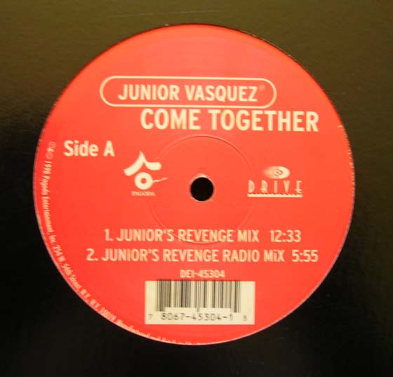 Junior Vasquez - Come Together