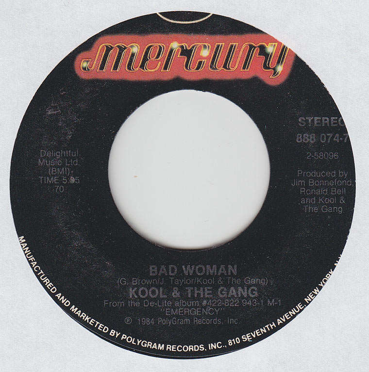 Kool & The Gang - Victory / Bad Woman