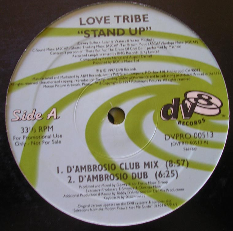 Love Tribe  / Panic Patrol - Stand Up / Out Of Control