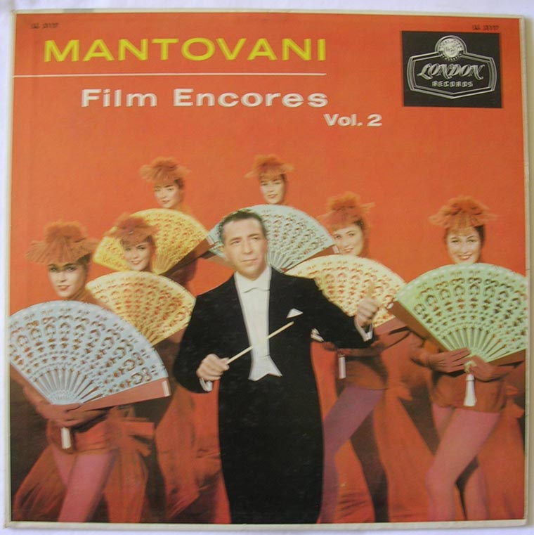 Mantovani And His Orchestra - Film Encores Vol. 2
