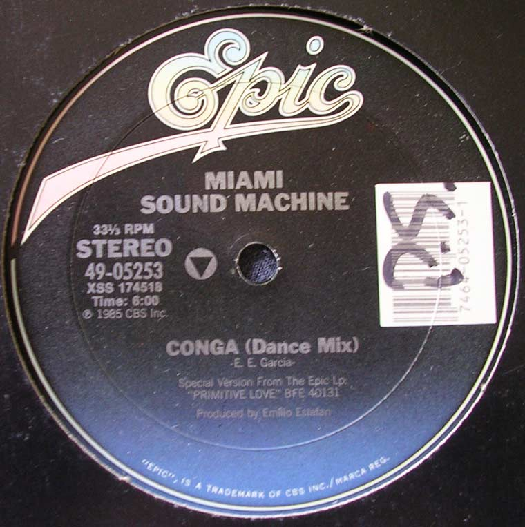 conga miami sound machine