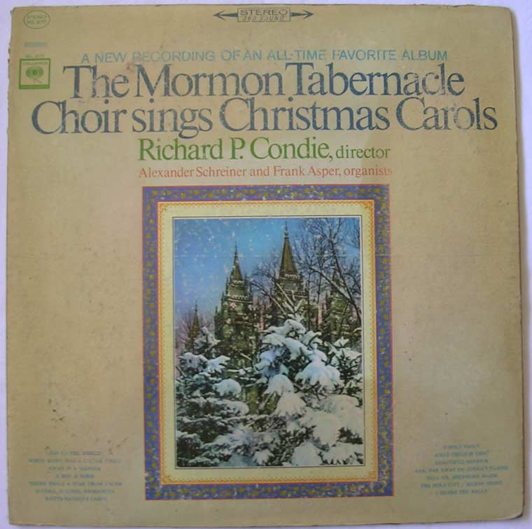 The Mormon Tabernacle Choir - Sings Christmas Carols