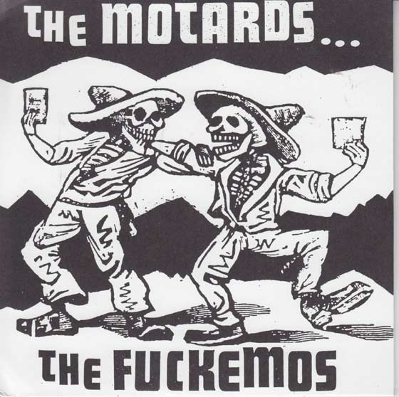 Fuckemos /  Motards - Split