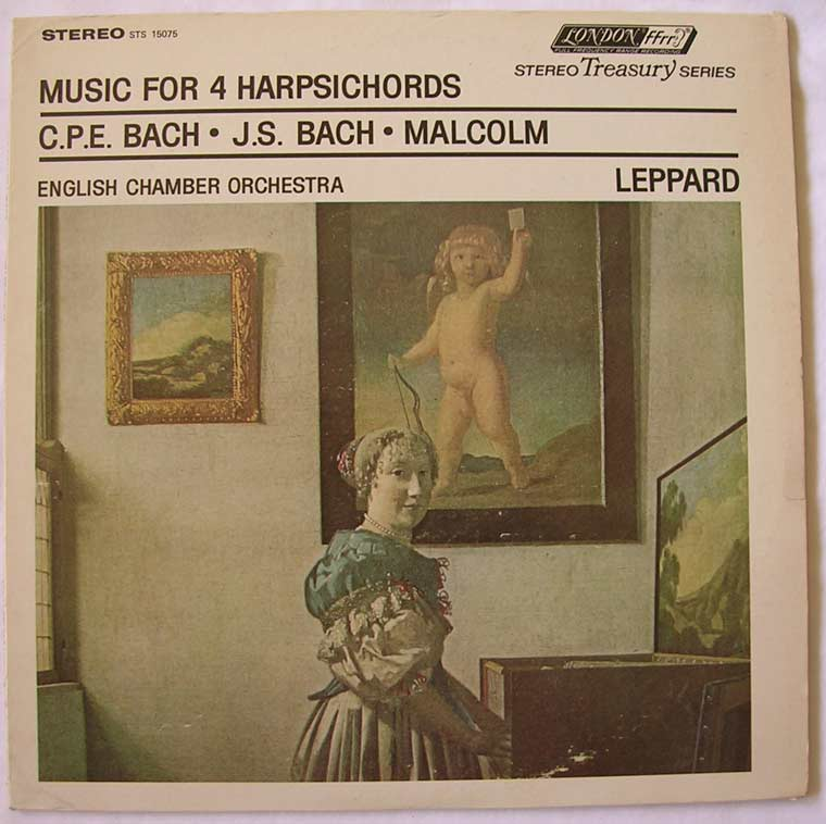 Bach Malcolm Leppard - Music For 4 Harpsichords