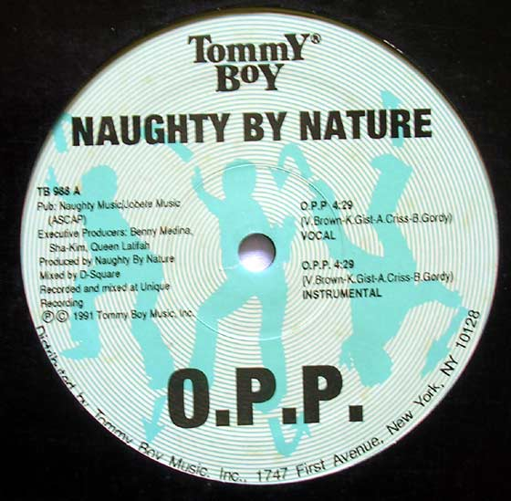 Naughty By Nature O P P Wickedest Man Alive By Tommy