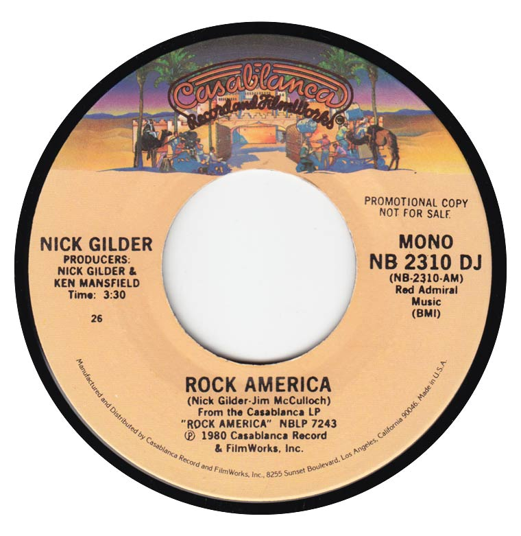 Nick Gilder - Rock America