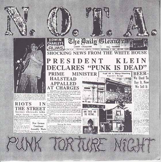 N.O.T.A. / Brother Inferior - Punk Torture Night / Freedom's Sons