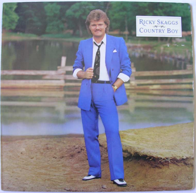 Ricky Skaggs - Country Boy By Epic