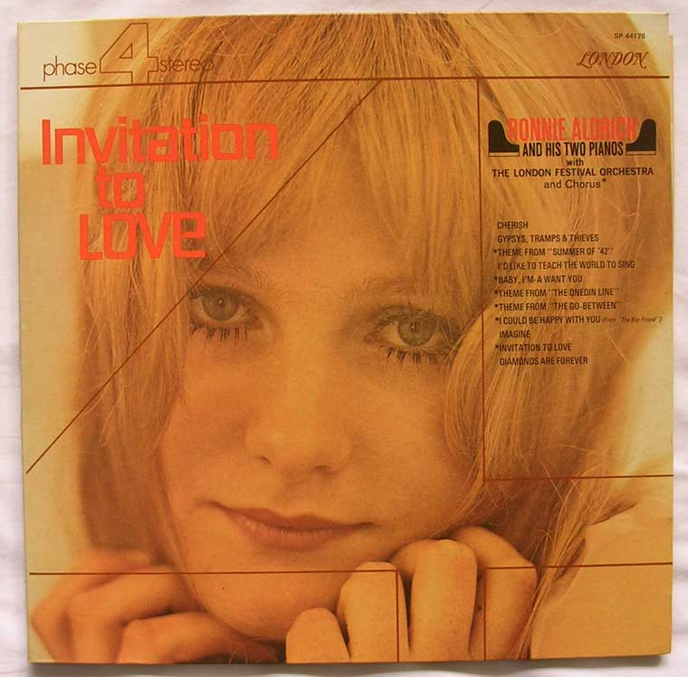 Ronnie Aldrich And His Two Pianos - Invitation To Love