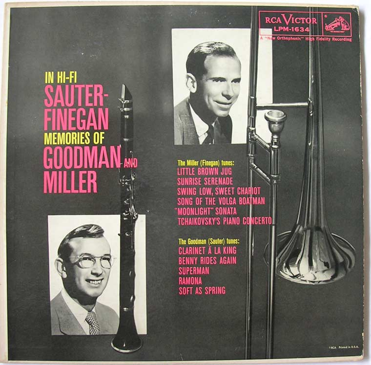Sauter Finegan Orchestra - Memories Of Goodman And Miller