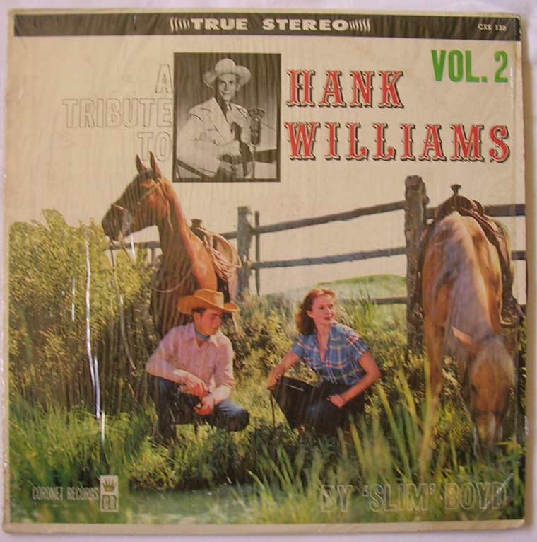 Slim Boyd - A Tribute To Hank Williams Vol. 2